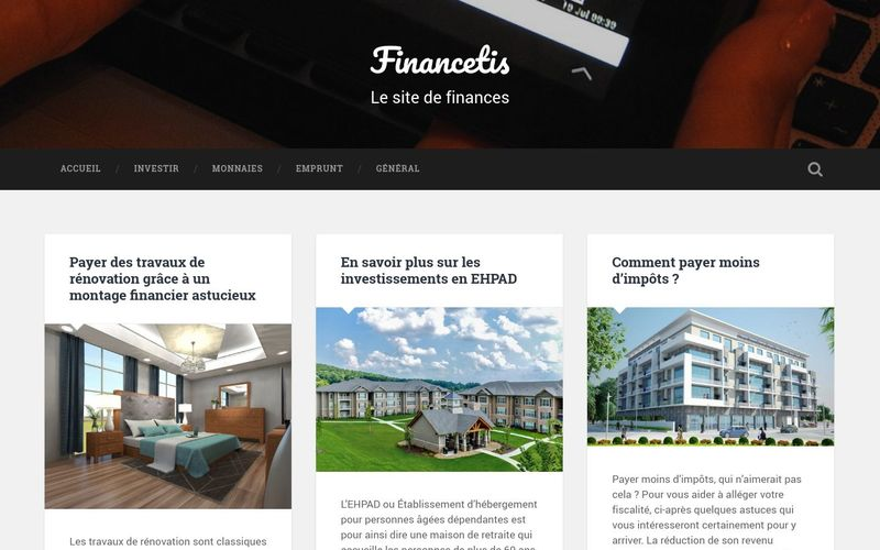 Financetis, le site de finances